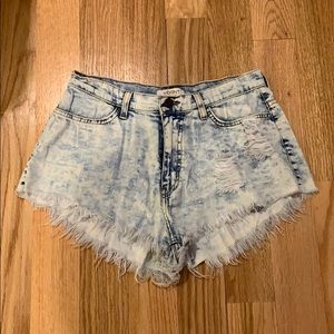 High Waisted Festival Short